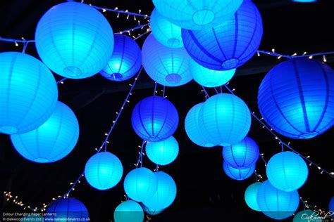 Paper Lantern disco lanterns wedding and event lighting by oakwood events