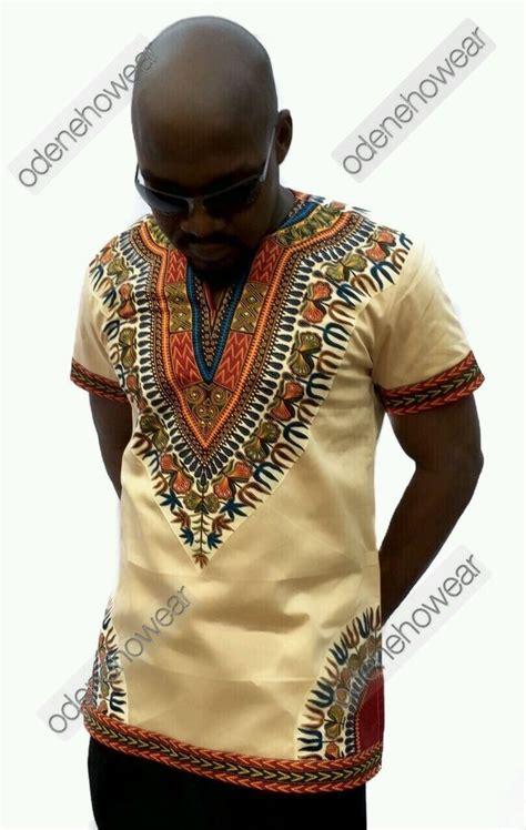 men african attire odeneho wear men s polished cotton top dashiki design