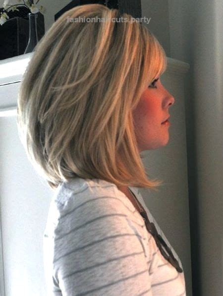 stacked bob haircut for women over 40 mid length stacked bob for women 50 or over 14 medium