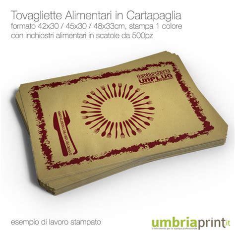 carta gialla per alimenti sta tovagliette in carta paglia personalizzate