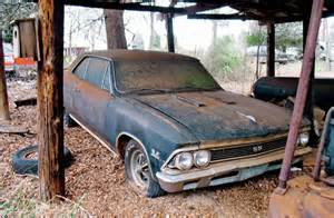 Red Barn Auto 1966 Chevrolet Chevelle Ss396 Rare Finds Rod Network