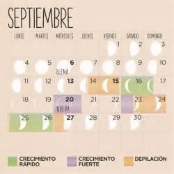 calendario lunar de septiembre 2017