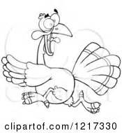 running turkey coloring page royalty free stock illustrations of coloring pages by hit