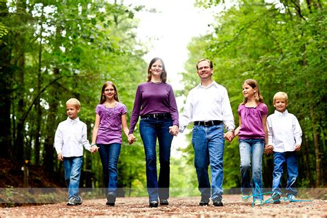 Family Portrait by Raleigh Family Portraits By Azul Photography