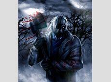 Jason Voorhees with Black Lantern rings vs Justtice League ... Jason Vs Michael Myers Comic