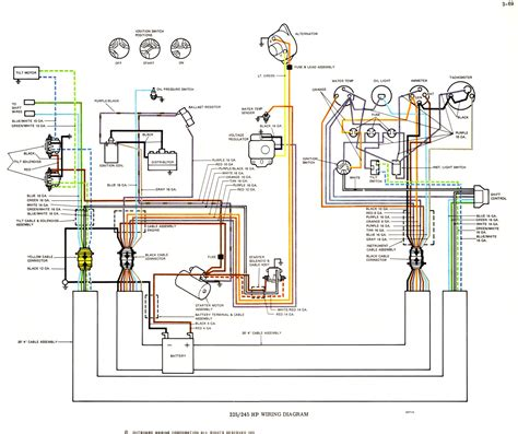 mercury outboard tachometer wiring diagram 42 wiring