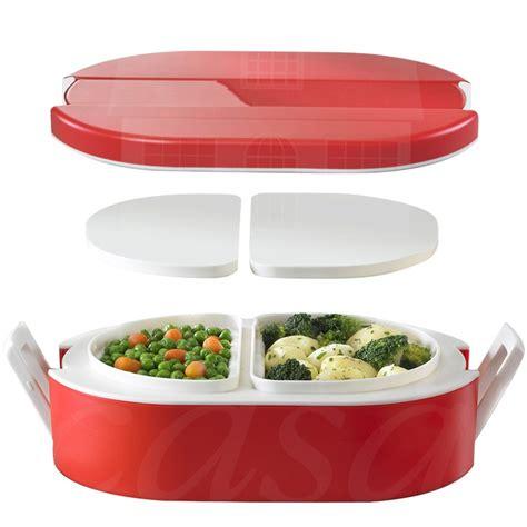contenitore termico per alimenti lunchbox termico ovale per alimenti con vaschette interne