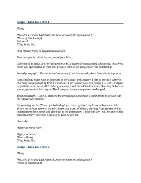 Thank You Letter Format Doc 9 thank you letter sles templates in doc