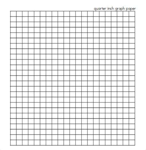 printable quarter inch graph paper sle half inch graph paper 6 documents in pdf word
