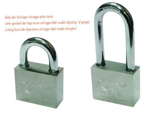 Tekiro Gembok Leher Pendek 40 Mm eb tools gembok