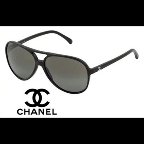 Glasses Chanel 3021 Polarized 41 chanel accessories on hold chanel black aviator polarized sunglasses from