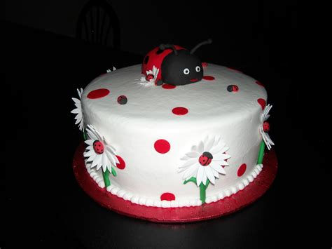 birthday cake ladybug cakes decoration ideas little birthday cakes
