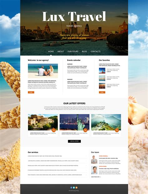travel agency responsive joomla template 47239