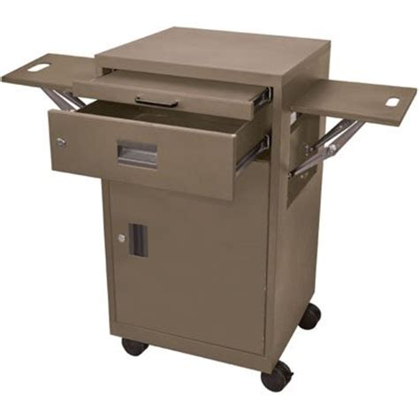 multimedia cart with locking cabinet luxor lmc2 multimedia cart with locking cabinets and drawer