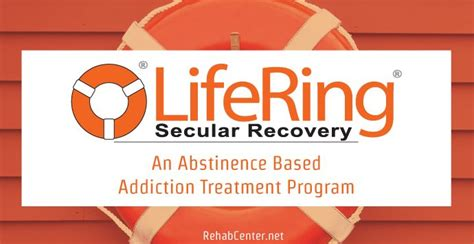 Addiction Detox Program by Lifering Secular Recovery An Abstinence Based Addiction