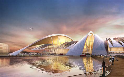 designboom russia twelve architects win bid to build airport in russia
