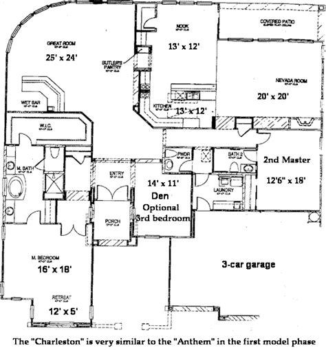 sun city anthem floor plans sun city anthem floor plans charleston