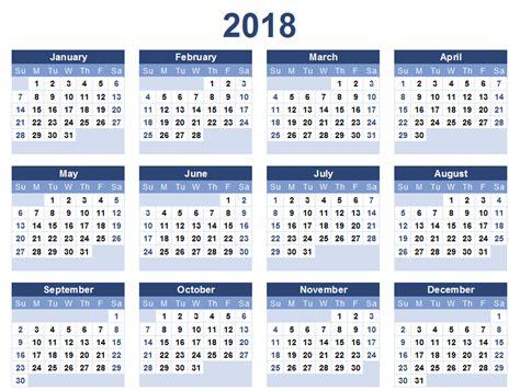 Calendar 2018 Pdf India Calendar 2018 All Calendars 2018 Pdf