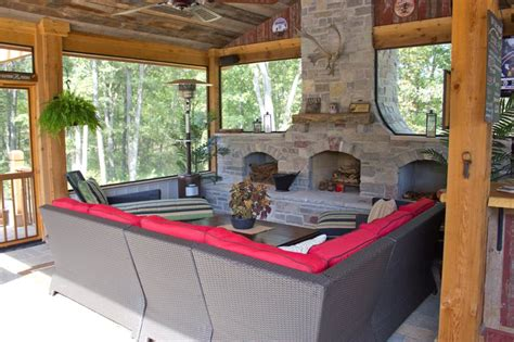 fireplace on screened porch outdoor fireplace chesterfield mo photo gallery