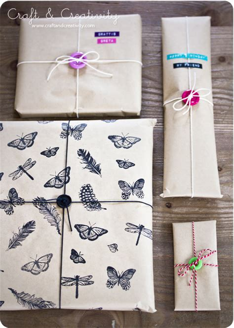 Wrapping Paper Craft - sted gift wrapping paper by craft creativity wrap