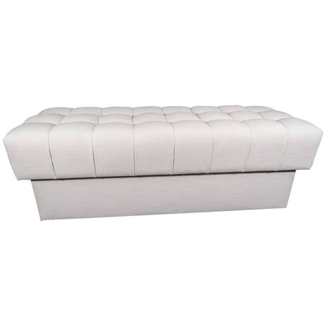 tufted upholstered bench fully upholstered tufted bench for sale at 1stdibs
