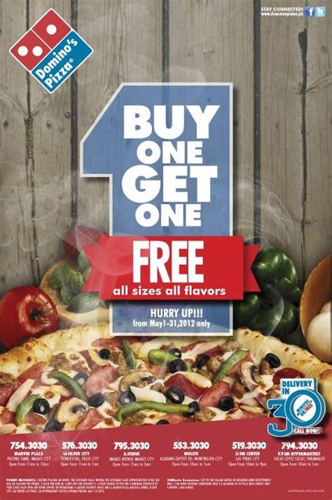 domino pizza promo domino s pizza buy 1 get 1 philippine promos deals