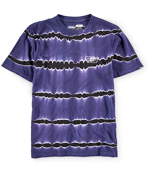 vans boys patch tie dye t shirt