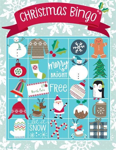 printable christmas bingo game cards printable christmas games blue mountain