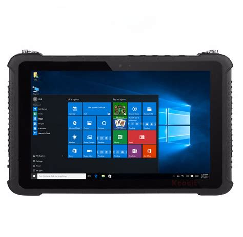 10 inch rugged windows tablet kcosit k16 windows rugged tablet