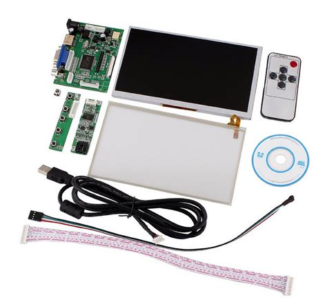 Lcd Komputer Touchscreen tontec 7 quot raspberry pi lcd touch screen display tft