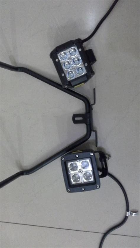 Lu Led Motor Nmax jual beli dudukan plat nomor beserta lu led cree nmax