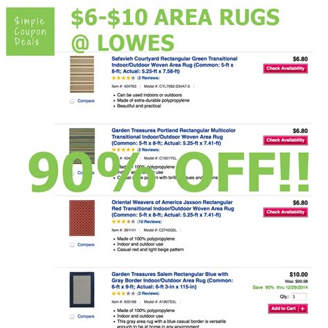 rugs express coupon code area rugs 90 as low as 6 80 for 5x8 rugs lowes simple coupon deals