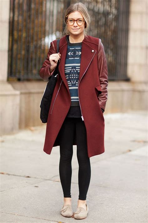 winter outfit inspiration   stylish nyc students