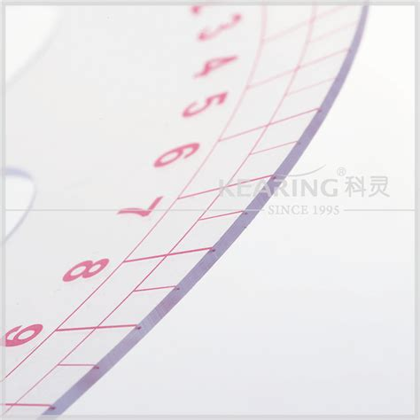 kearing 6505 armhole curve ruler pattern making rulers kearing brand 32cm long metric vary form circle curve