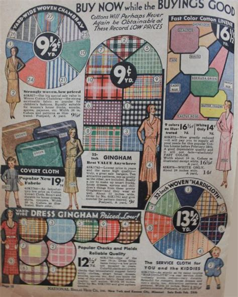 gingham pattern history 1930s fashion colors clothing fabric