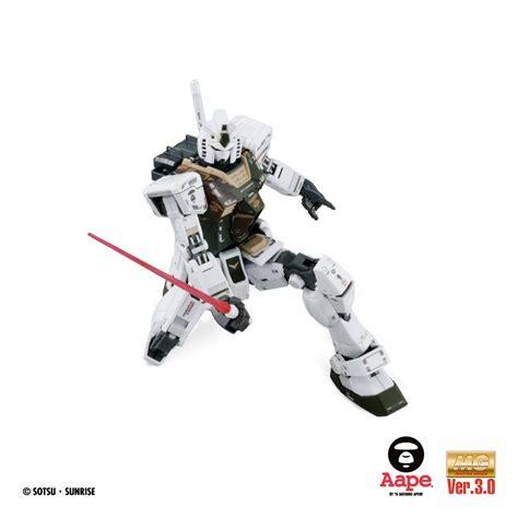 Bandai Mg Rx 78 2 Gundam Ver 30 Gft Limited Edition aape x mg 1 100 rx 78 2 gundam ver 3 0 gundam kits collection news and reviews