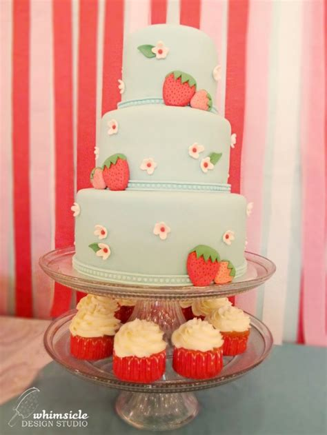 Strawberry Baby Shower Cake by 64 Best Images About Strawberry Baby Shower On