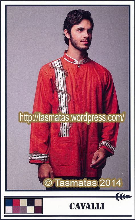 Baju Muslim Priabaju Koko Katun Orange Sps111 04 Murah baju koko tasmatas model cavalli tasmatas