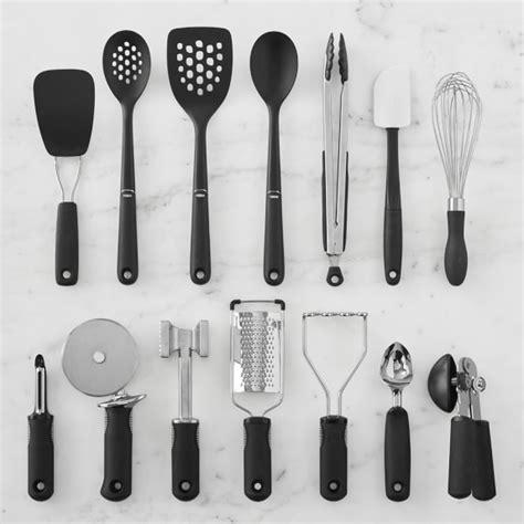 oxo 15 piece kitchen tool set williams sonoma