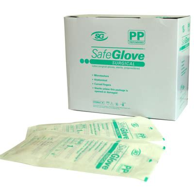 Sale Sarung Tangan Steril Safeglove Powder Free onemed health care products safeglove surgical pp beaded
