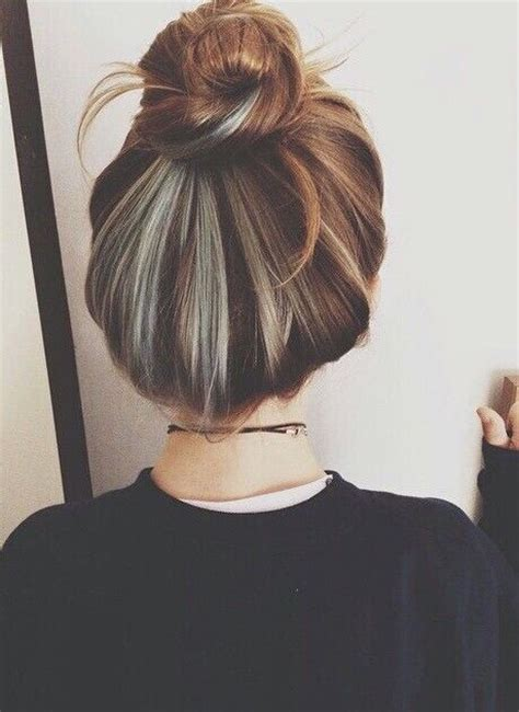 putting silver on brown hair 25 best ideas about underneath hair colors on pinterest