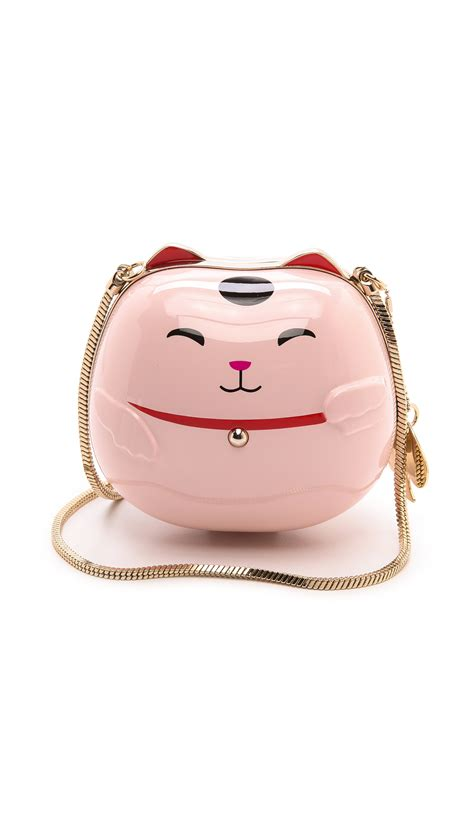 Katee Spadee 4in lyst kate spade new york hello tokyo lucky cat