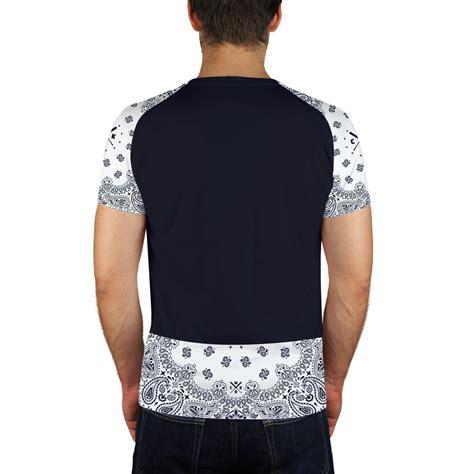 T Shirt Compton t shirt homme compton navy et blanc one t shirt navy