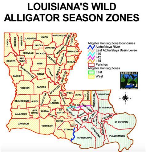 alligators in map troy landry and nephew holden of sw wojdylo