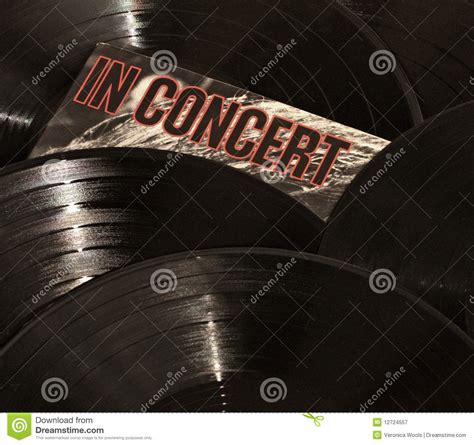 Free Records In Records In Concert Royalty Free Stock Photography Image 12724557