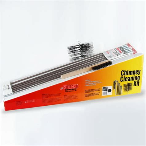Chimney Flue Cleaning Kit - cleaning chimney cleaning