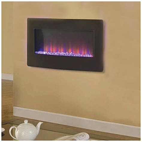 36 quot wall mount electric fireplace big lots