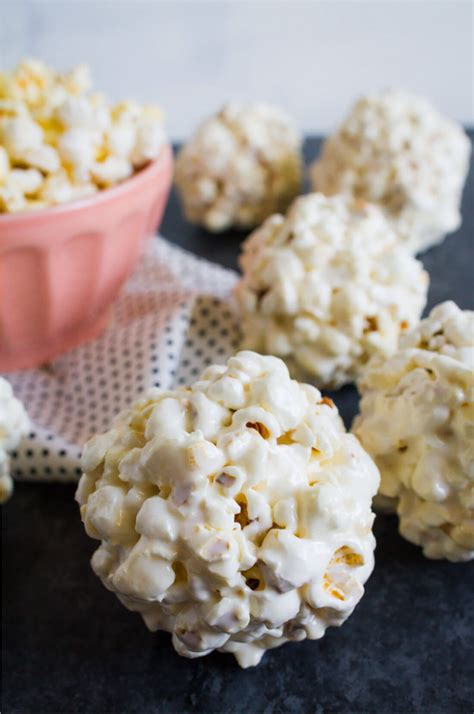 easiest popcorn balls recipe