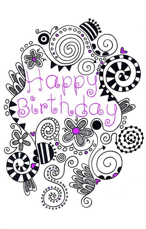 doodle happy birthday 17 land happy birthday doodle