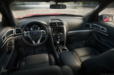 ford explorer  model uncovered drive safe  fast